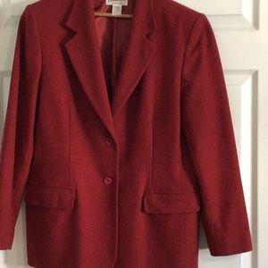 Pendleton blazer.